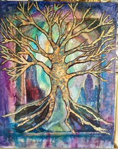 alchemical gold tree